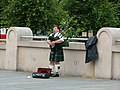 Bagpipes busker, Edinburgh.jpg