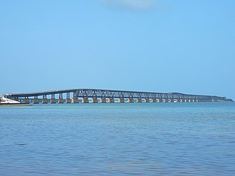 Bahia Honda Rail Bridge - Image: Bahia Honda Rail Bridge