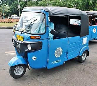 Auto rickshaw - Indonesia