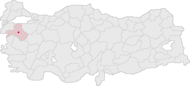 Balıkesir Turkey Provinces locator.png