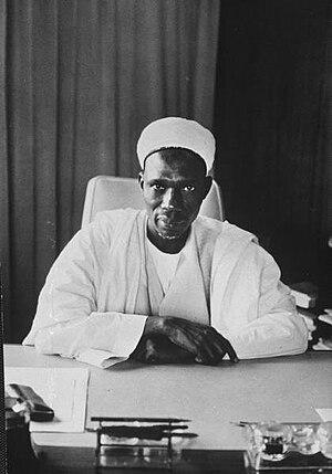 English: Abubakar Tafawa Balewa