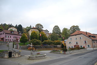 Ballaigues Place in Vaud, Switzerland