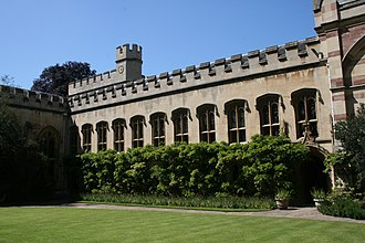 Balliol College, Oxford - Front Quadrangle, Old Library