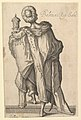 "Balthasar, after figure in ""The Adoration of the Magi"" by Jacques Bellange MET DP819772.jpg"
