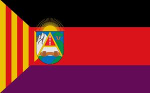 Regional Defence Council of Aragon - Image: Bandera del Consejo Regional de Defensa de Aragón