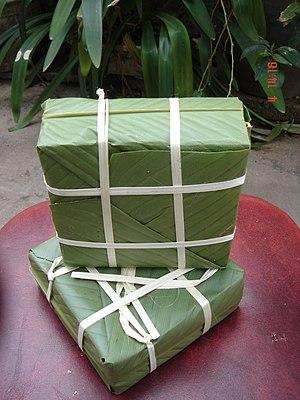 Bánh chưng - Image: Banh chung vuong