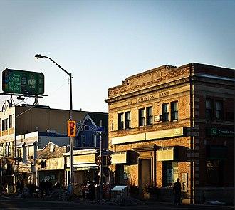 The Dominion Bank - Image: Bank at Logan and Danforth