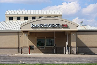 Bank of the West - A Bank of the West branch in Gillette, Wyoming