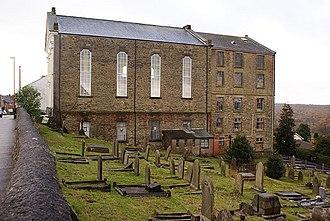 Cinderford - Image: Baptist Church, Cinderford, Forest of Dean geograph.org.uk 1041508