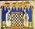 Barcelona MHCAT Templars playing chess 01.jpg