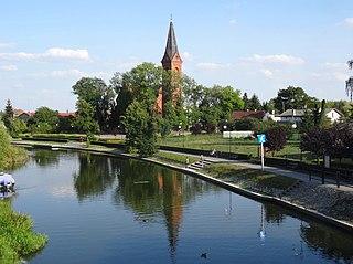 Barcin Place in Kuyavian-Pomeranian Voivodeship, Poland