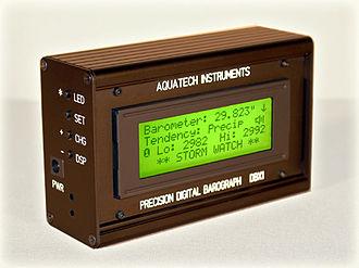 Barometer - Digital graphing barometer.