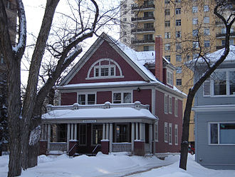 Central Business District, Saskatoon - Barrister or Schroeder House (1909)