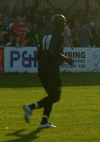 Barry Hayles - Hayles playing for Plymouth Argyle in 2007
