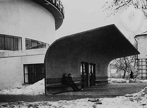 Constructivist architecture - Barsch/Sinyavsky, Moscow Planetarium, 1929