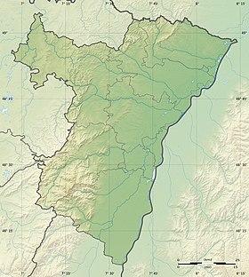 Voir sur la carte topographique du Bas-Rhin