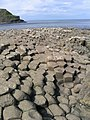 Basalt roch formations at the giant's causeway - panoramio.jpg