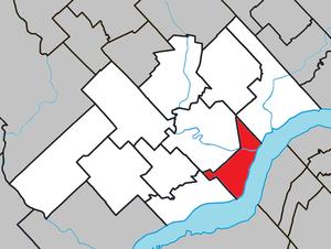 Batiscan, Quebec - Image: Batiscan Quebec location diagram