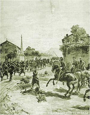 Edoardo Matania - Image: Battaglia Varese 1859 Matania