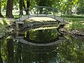 Batthyány Mansion Pond, Arch Bridge, 2017 Bicske.jpg