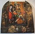 Battista franco, caduta della manna (1537) e incorniciatura di g.s. maruscelli (1610 ca.).JPG