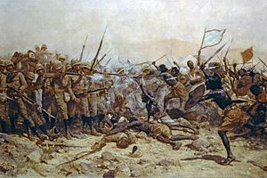 Battle of Abu Klea - The Battle of Abu Klea by William Barnes Wollen