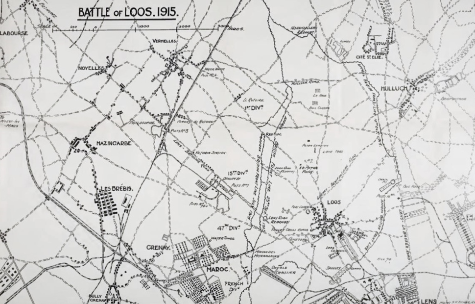 Battle of Loos, 1915 png