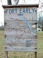 Battle of Lynchburg Map Nov 08
