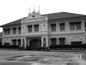 Education in Malaysia - Batu Pahat High School in Johor.
