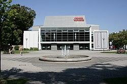 Bautzen - Schilleranlagen - Sorbisches Theater 01 ies.jpg