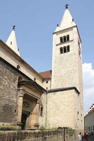 St. George's Basilica, Prague - Image: Bazilika Svatého Jiří