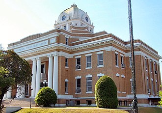 National Register of Historic Places listings in Beauregard Parish, Louisiana - Image: Beauregard Courthouse
