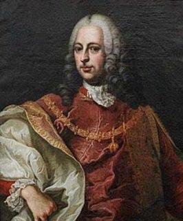 Friedrich August von Harrach-Rohrau plenipotentiary minister of the Austrian Netherlands