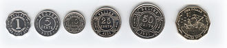 Belize dollar - The coins of Belize