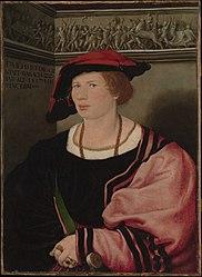 Hans Holbein: Benedikt von Hertenstein (born about 1495, died 1522)