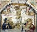 Benozzo gozzoli, tabernacolo di legoli, 1479-80, 02 crocifissione.jpg