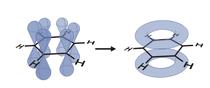 Estructura del benceno.