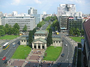 Wittenbergplatz - Wittenbergplatz from the top of KaDeWe