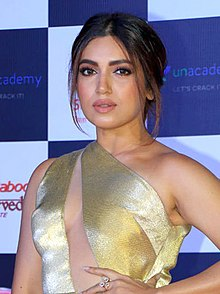 Bhumi Pednekar in Screen Awards 2019 (10) (cropped).jpg