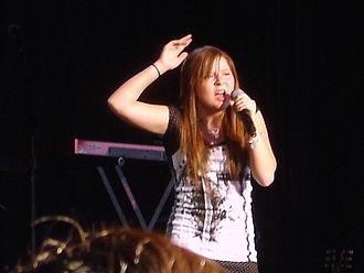 Bianca Ryan - Ryan performing during the Nextfest Tour in July 2007
