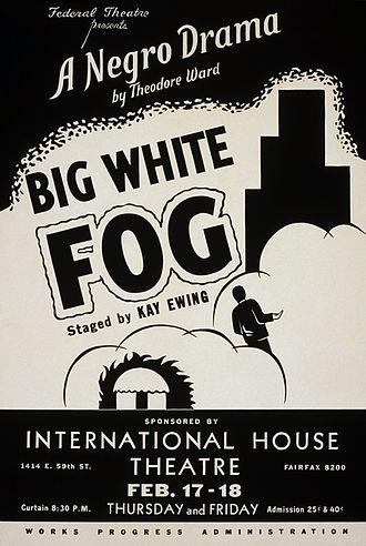 Big White Fog - 1938 poster