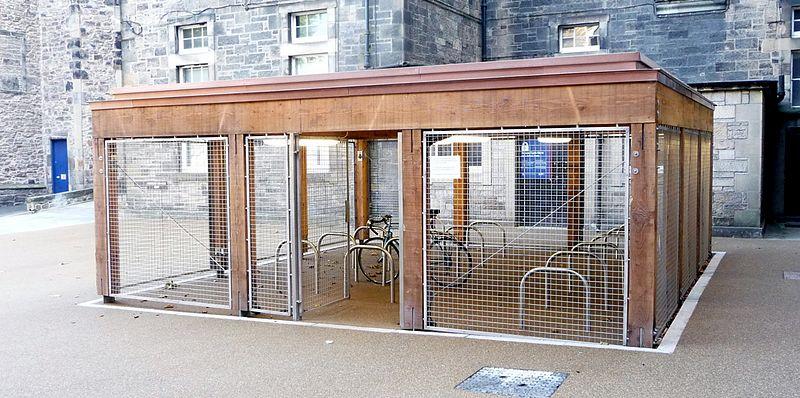 File:Bike storage (1) (9985530514).jpg - Wikimedia Commons