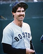 Bill Buckner of the Boston Red Sox