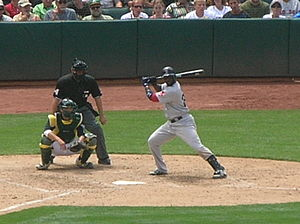 Bill Hall (utility player) - Hall batting for the Boston Red Sox in 2010