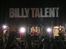 Skupina Billy Talent leta 2007