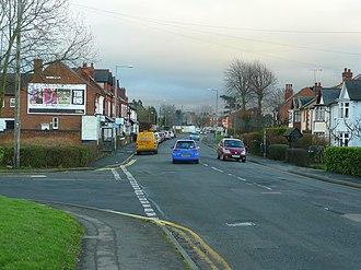 Districts of Redditch - Birchfield Road, Headless Cross