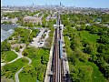 Bird's eye view of Garfield Park, downtown Chicago, and the Lake Street elevated (34518926885).jpg
