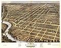 Bird's eye view of the city of Danville, Vermillion County, Illinois 1869. LOC 73693353.jpg