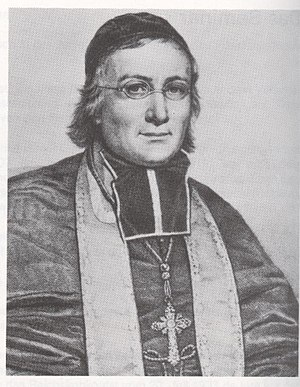 Unterelsaß - Andreas Räß (André Raess), Bishop of Straßburg
