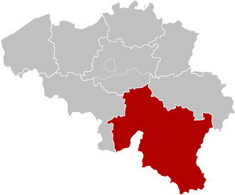 Roman Catholic Diocese of Namur - Image: Bisdom Namen
